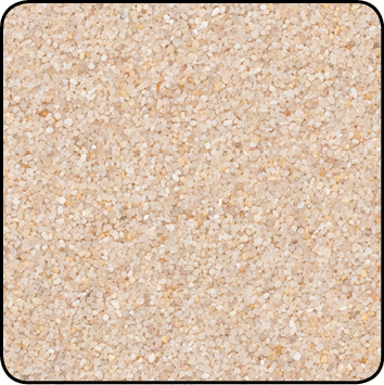 Farbsand, 0,5 kg Beutel, Farbe creme